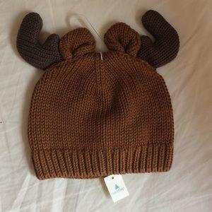 baby Gap reindeer beanie